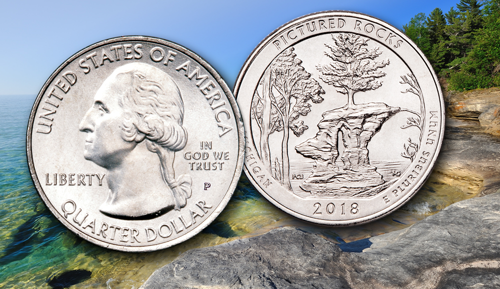 Pictured Rocks National Lakeshore Quarter Released