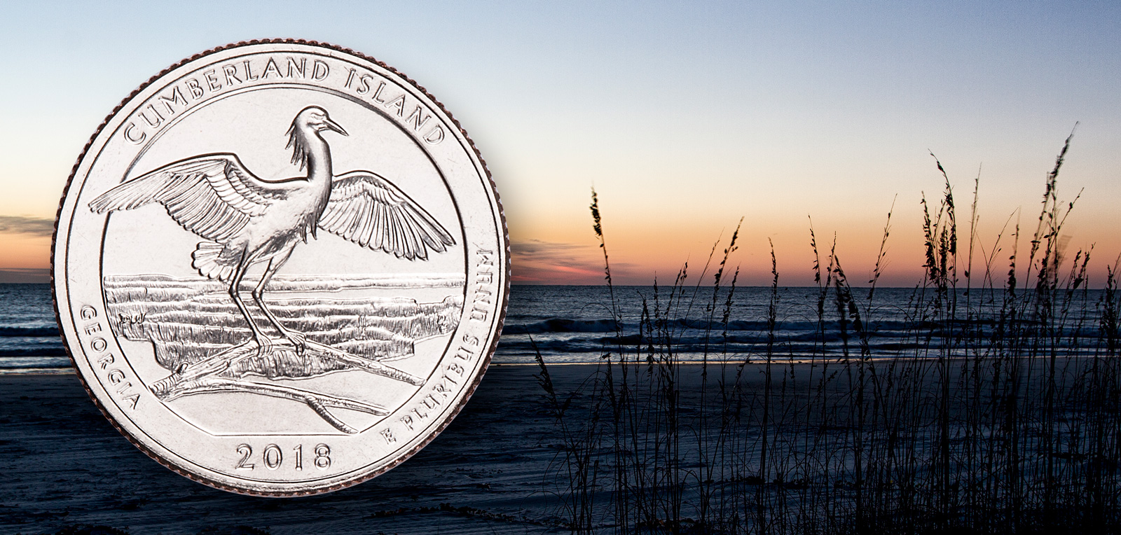 Cumberland Island National Seashore featured on 44th in National Park Quarter series