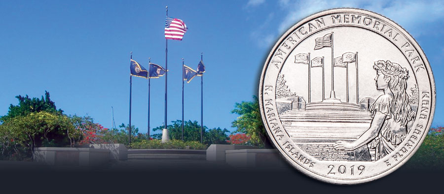 2019 American Memorial Park Quarter to be released at park's Amphitheater