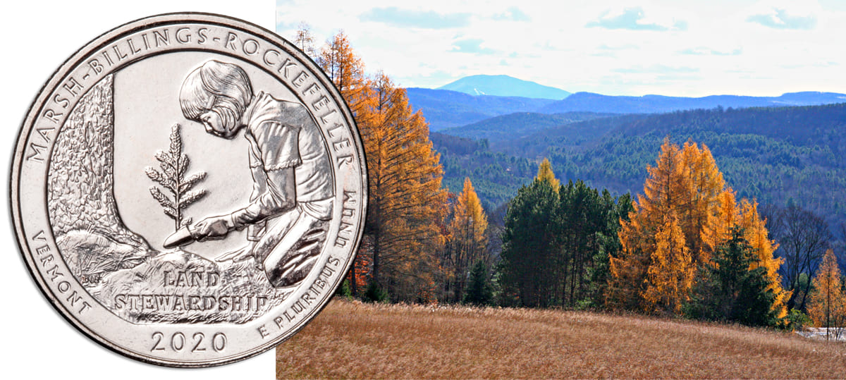 Marsh-Billings-Rockefeller National Historical Park Quarter Design Finalized