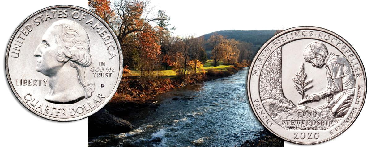 Marsh-Billings-Rockefeller National Historical Park featured in 54th National Park Quarter Series