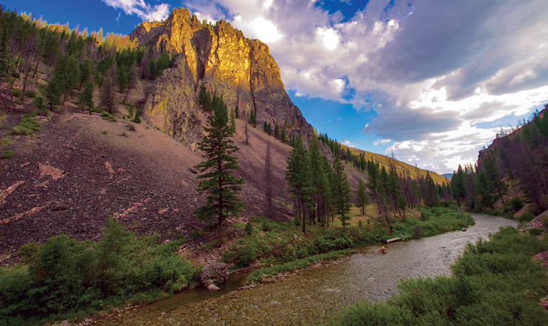 Frank Church River of No Return Wilderness featured on 50th National Park Quarter