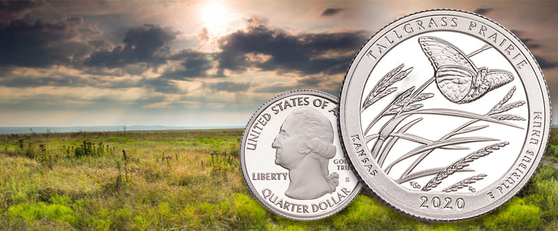 2020 Tallgrass Prairie Park Quarter released to the public