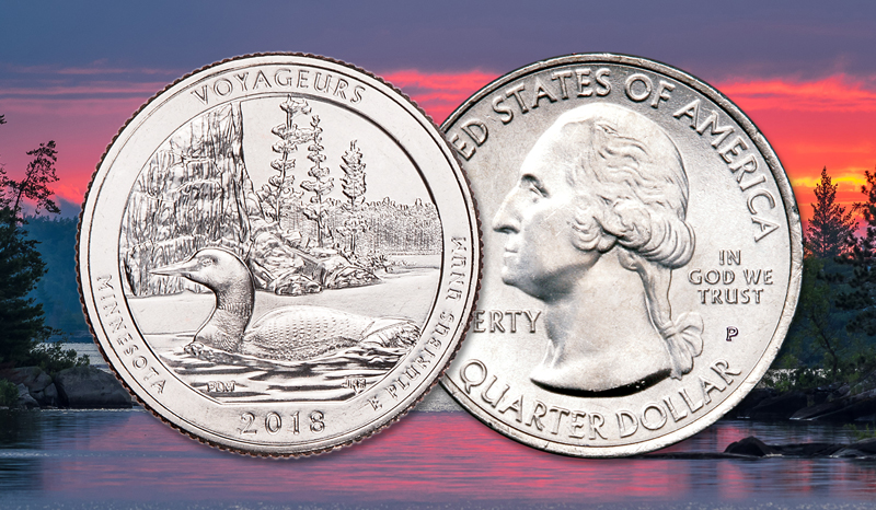 Voyageurs National Park Quarter Launched