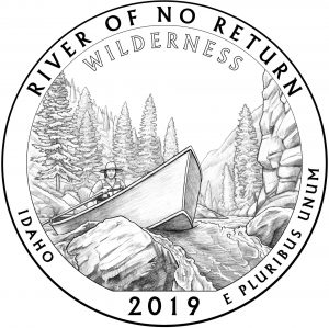 Frank Church River of No Return Wilderness Quarter design