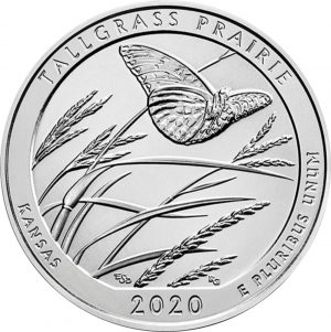 Tallgrass Prairie National Preserve Quarter