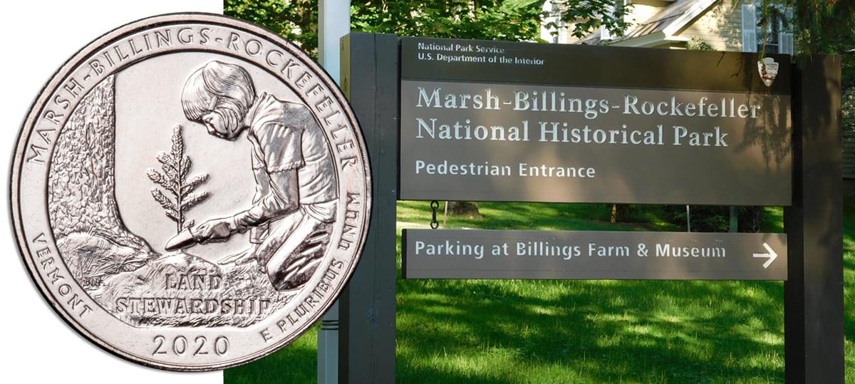 Marsh-Billings-Rockefeller National Historical Park Quarter Design Released